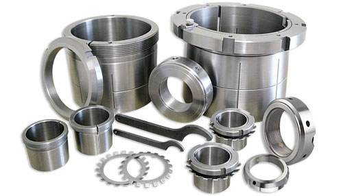 Mounted Roller Bearings, Adapters & Accessories