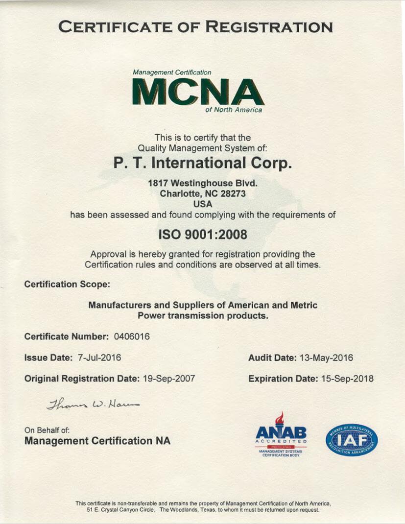 PT_International_ISO_9001_2008_Certificate