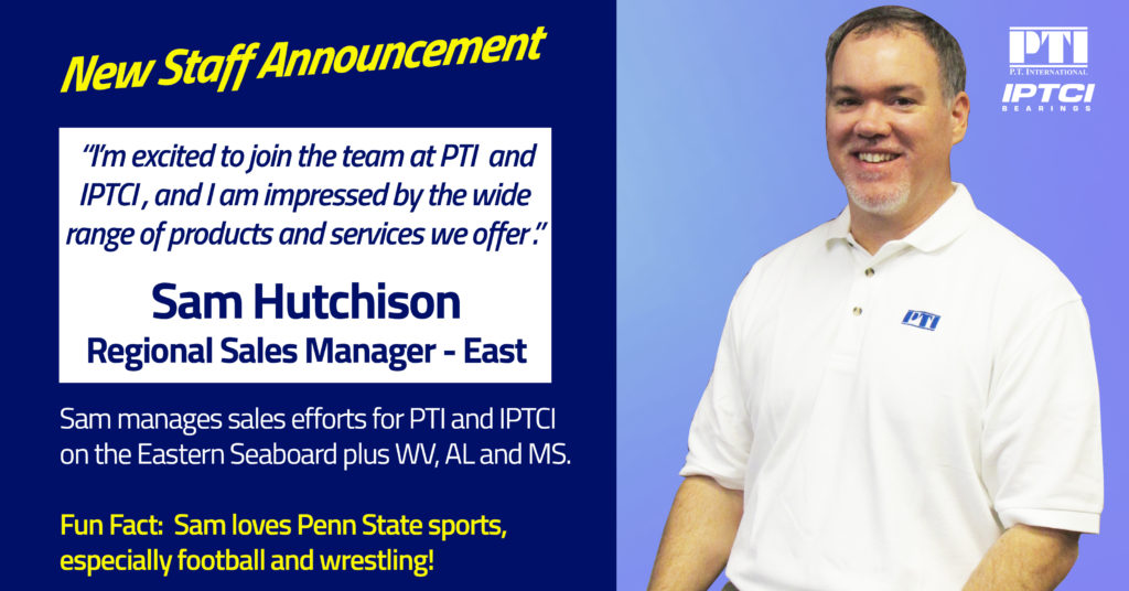 Introducing Sam Hutchison, New Regional Sales Manager – East