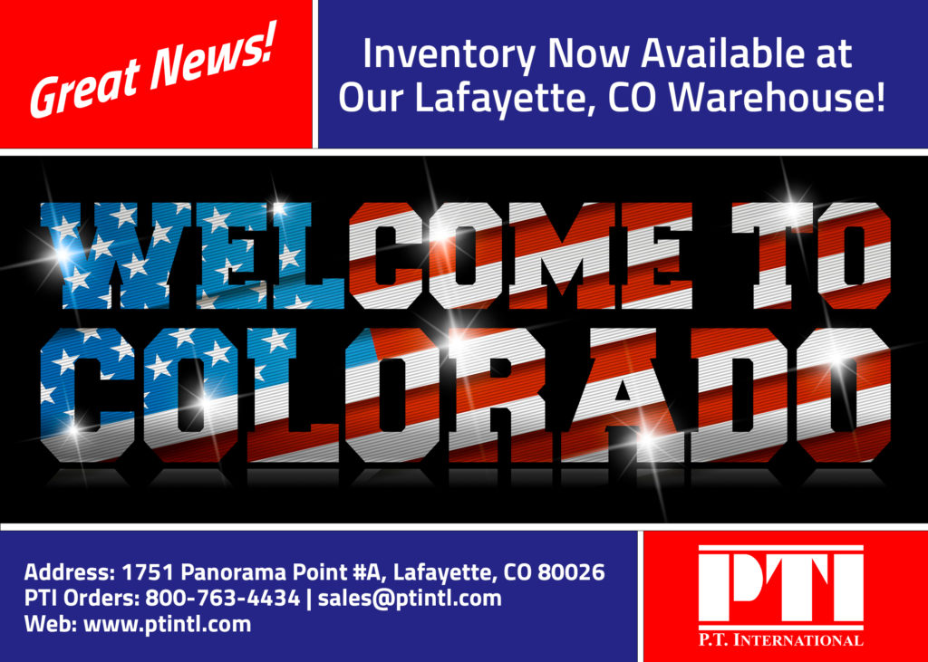 Now Offering Inventory In Colorado